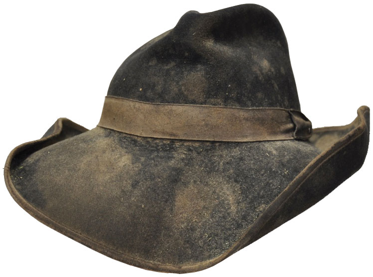 A damaged hat that can be resurrected.
