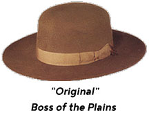 Original Boss of the Plains hat