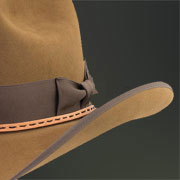 detail of camel hat