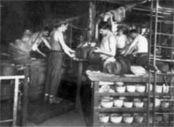 historic hat making